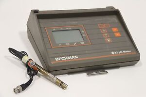 Beckman Phi32 32ph Laboratory Ph mv Meter With 39848 Ph Probe