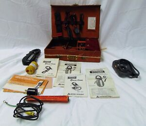 Vintage Amprobe Test Master a50 Electrician Instrument Test Set With Case