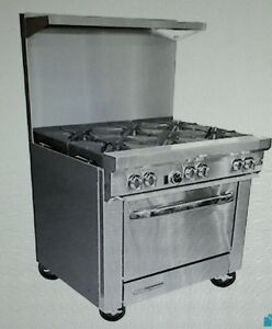 Southbend S36d 36 Gas Range With 6 Burners And 1 Standard Oven
