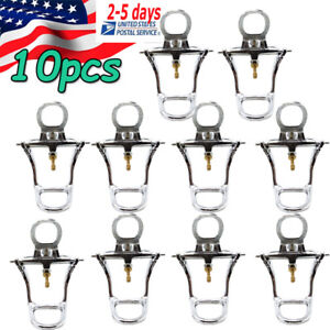 10pcs Dental Low Arch Denture Chrome Articulator Dental Lab Meta For Model Sale