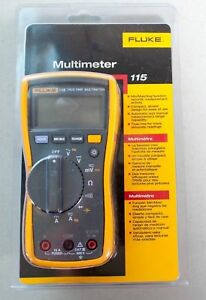 Free Shipping Fluke 115 Compact True rms Digital Multimeter Brand New