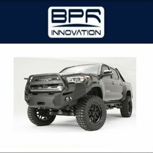 Fab Fours For 2016 2017 Toyota Tacoma Premium Winch Front Bumper Tt16 B3650 1