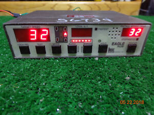 Kustom Signal Eagle Plus Police Radar Speed Detection Control Head Unit B8