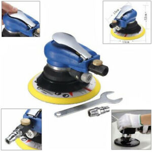 6 Air Random Orbital Pneumatic Sander Auto Body Orbit Da Low Vibration Supplies
