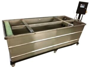 6 Ss Steel Tank Water Transfer Printing Hydrographic With Touch Screen Control