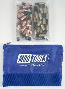25 1 8 25 3 16 Extra Short Cleco Fasteners W Mesh Carry Bag kk3s50 1