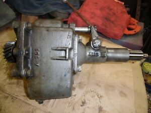 Rare Sherman Step Up Transmission Ford 8n naa ferguson Tractors