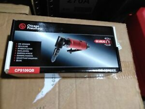 Chicago Pneumatic Cp9106qb 1 4 inch Collet 90 degree Compact Angle Die Grinder