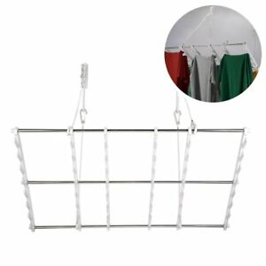 Jiapusi Multifunctional Wall Folding Clothes Drying Rack And Door Hanger For Or