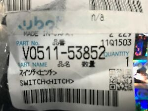 New Oem Kubota Hit Switch Part v0511 53852