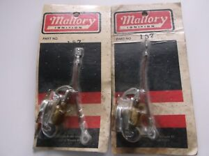 2 Nos Mallory Distributor Points Sets 157