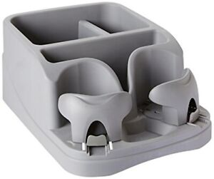Console Floor Back Seat Organizer Mobile Locking Cup Drink Holders Car Vehicle