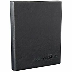 Kingfom Business Card Holder Book Pu Leather Journal Name Credit Organizer For