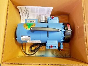 Thomas Piston Pump Oil less Compressor vacuum 115 230v Gh 405b 50 Psig 1725 Rpm