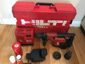 Hilti Te 5 a Cordless Hammer Drill With 2 Battery Charger And Case