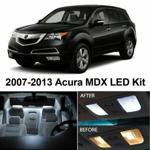 20x White Car Led Lights Interior Package Kit For Acura Mdx 2007 2013 Bulb Lamps