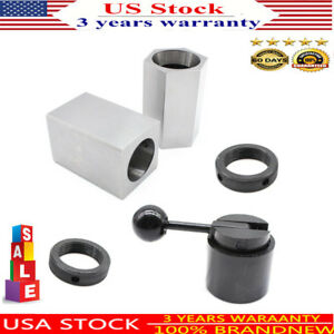 Black 5c Collet Block Chuck Set Square Or Hex And Rings Workholding Closer Hold