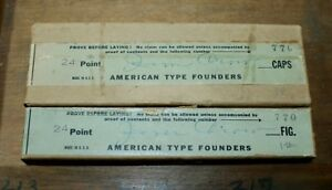 Nos 24pt Atf Gothic Shade A 19th C Dickinson Tpfy Design Letterpress Type