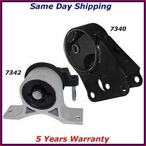 Engine Motor Mounts Front Right Kit For 02 06 Nissan Altima 2 5l