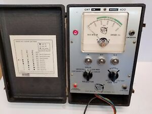 Vintage B K Model 400 Cathode Ray Tube Tester Rejuvenator