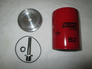 Farmall Spin On Oil Filter Kit Super A C Super C 100 130 140 200 230 240 340