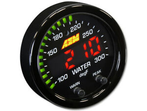 Aem 30 0302 X series Electronic 300f 150c Water Temperature Gauge Meter
