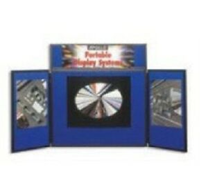 Trade Show Table Top Display By Quartet Vsb93208 With Carry Case
