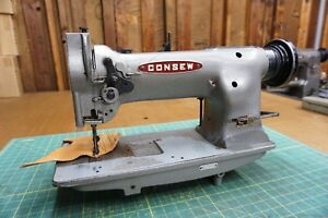 Consew 226r Industrial Walking Foot Sewing Machine head Only