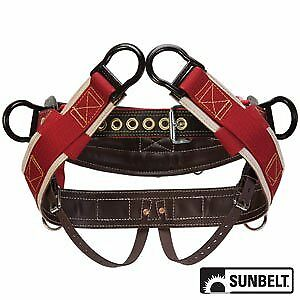 Sunbelt Saddle Weaver 4 dee Extra Wide Back 1 Neoprene Straps Medium P