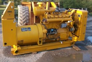Caterpillar 100 Kw Continuous Duty Ng lp Generator Set W 1550 Hours