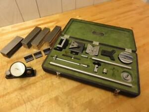 Rare Metron Instruments 33a Accessory Kit For Doall Comparator Gages Edmunds