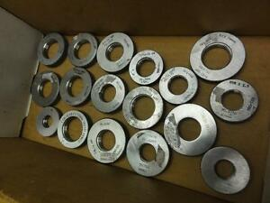 17 Nice Hemco Thread Ring Gages Metric Unf Ns Un Npsi Common Sizes