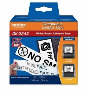 Genuine Brother Dk2243 Large Shipping Labels For Ql1050 Ql 1050 Label Printers