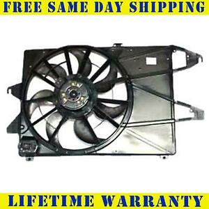 Radiator And Condenser Fan For Ford Mercury Fits Contour Mystique Fo3115112q
