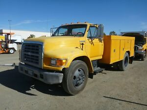 1996 Ford F800 S a Utility Truck reduced Price