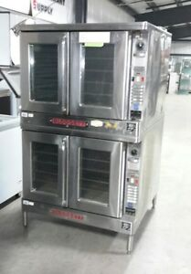 Used Blodgett Ef 111 Double Stack Electric Convection Oven