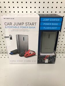 Winplus Car Jump Start Portable Power Bank Flashlight 8000 Mah Best Priced
