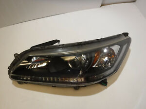 2013 2014 2015 Honda Accord Sedan Left Driver Side Led Halogen Headlight