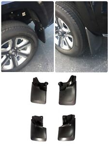 Fit For 16 18 Toyota Tacoma Front Rear Splash Guards Mud Flaps Mud Guards 4pcs