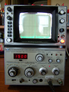 Hp 8558b Opt 002 Converted Back To 50 Ohms Spectrum Analyzer 0 1 1500mhz