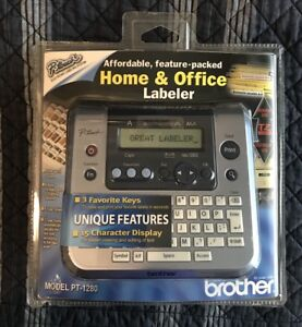 Brother Pt 1280 P touch Electronic Labeling System Printer Brand New