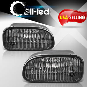 For 1999 2003 Jeep Grand Cherokee Clear Front Bumper Fog Lights Lamps Pair