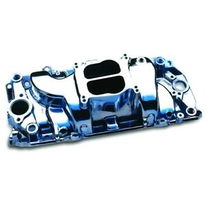 Professional Products For Bb Chevy Cyclone Intake Manifold Polished 53000