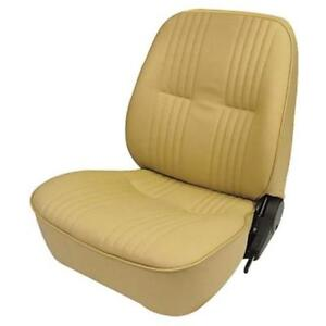 Procar 80 1400 54r Rh side Low Back Beige tan Vinyl Bucket Seat