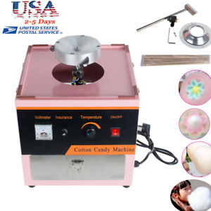 Electric Cotton Candy Machine Floss Maker Commercial Carnival Party Safe Use