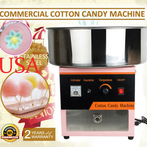 Electric Cotton Candy Machine Floss Maker Commercial Home Carnival Party