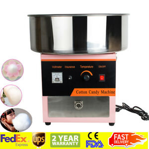 usa electric Cotton Candy Machine Floss Maker Commercial Carnival Party On off