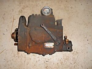Farmall 400 Diesel Tractor Injection Pump