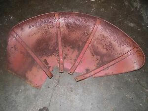 Farmall W9 Tractor Set Of Back Fenders
