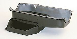 Renegade Engine Oil Pan P2185 Champion Style 7 0qt Black For Chevy 283 350 Sbc
